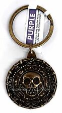NEW Disney Parks Pirates of the Caribbean Dead Man's Chest Aztec Gold Keychain