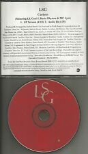 LSG w/ BUSTA RHYMES ll Cool J curious PROMO CD Single Keith Sweat Johnny Gill
