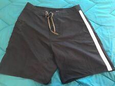 Mens Patagonia Black Board Short Swim Trunks Size 36 TS8
