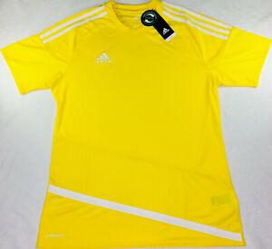 New Adidas Climacool REGI 16 JSY Yellow Shirt Adidas Performance Men's Size M