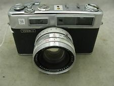 Yashica Electro 35  Rangefinder with 45mm f1.7 lens FOR PARTS OR REPAIR ID 8720