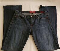 Lucky Brand Blue Jeans Womens, Size 12/31 Long, Sofia Boot, Acid Wash