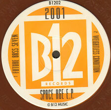 2001 - Space Age EP (Orange Vinyl) - 1991 - B12 - Uk - B1202