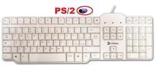 Tastiera PS2 Olidata KBIP0W06 PC Computer PS/2 bianca 105 tasti - Mac Macintosh