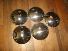 NOS Set of 5 Namsco Baby Moon Hubcaps 55-64 Chrysler Products