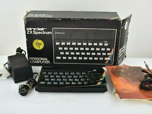 Vintage Sinclair ZX Spectrum 48k Computer Boxed And Working With Issues