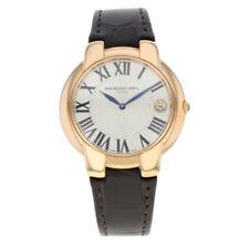Relojes de pulsera fecha RAYMOND WEIL de cuero