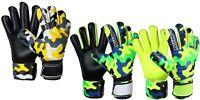 Goalkeeper Goalie Flat Roll Finger Saver Protection New Design Football Gloves
