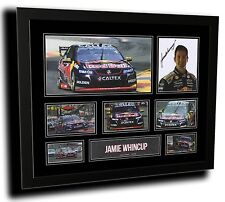 JAMIE WHINCUP V8 SUPERCARS HOLDEN SIGNED LIMITED EDITION FRAMED MEMORABILIA