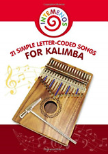 More details for 21 simple letter-coded songs for kalimba: kalimba sheet music for beginners