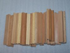 Lot of 32 Wood Scrabble Tile Racks Letter Holders Art Crafts New & Old Style Mix