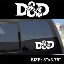 Dungeons and Dragons DND logo decal sticker