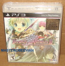 Tears to Tiara II: Heir of the Overlord + Artbook New Sealed PlayStation 3 PS3