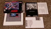 Mega Man X 1 - Super Nintendo SNES Video Game CIB Complete lot CLEAN & TESTED!!!