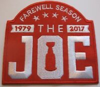 "Detroit Red Wings Arena ""The Joe"" Jersey Patch~2017 Farewell Season~Ships FREE"
