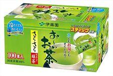 ITOEN Oi Ocha Green Tea Powder 0.8 g X 100 sticks Matcha Blended JAPAN F/S