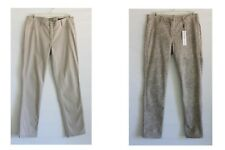 Calvin Klein Jeans Reversible Women's SZ 14 Tan & Gray Skinny Denim Pants NWT