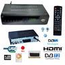 DIGITALE TERRESTRE DECODER RICEVITORE TV SCART DVB-T2 HDMI 1080P REG PVR HD 999