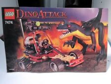 LEGO  #7474   Dino Attack  Urban Avenger vs Raptor   Instructions MANUAL ONLY