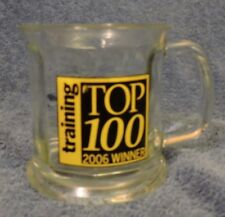 "AlliedBarton Security Services ""Training Top 100, 2006 Winner"" Glass Cup"