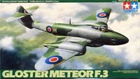 Tamiya 1:48 Gloster Meteor F.3 British Plastic Aircraft Model Kit #61083