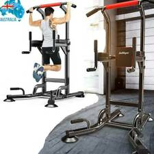 Power Tower Multi Workout Pull Up Chin Up Dip Station Fitness Home Gym Equipment