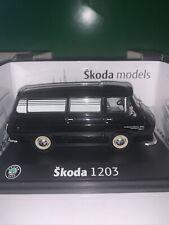 Abrex 1/43 Scale 143ABSX715XN - Skoda 1203 Funeral Car - Black Mint Rare