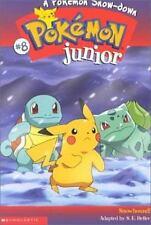 A Pokemon Snow-Down (Pokemon Junior Chapter Book, No. 8) by Sarah Heller, Good B
