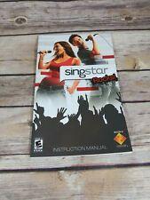 Singstar rocks (gamebooklet,ps2)