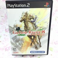USED PS2 PlayStation 2 Gallop Racer 8 Live Horse Racing 00272 JAPAN IMPORT