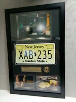 John Wick Keanu Reeves MOVIE PROP License Plate Gold Coin 1969 MUSTANG un-signed