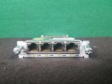 EHWIC-4ESG Cisco Enhanced HWIC 4 port Gigabit RJ-45 Ethernet *QTY Available*