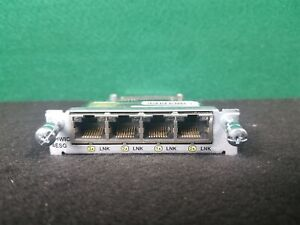 EHWIC-4ESG Cisco Enhanced HWIC 4 port Gigabit RJ-45 Ethernet