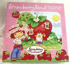 Strawberry Shortcake Rare Strawberryland Hide & Seek Board Game VGC