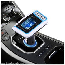 Car MP3 Music Player with FM Transmitter with Remote Control, Support TF / SD Ca