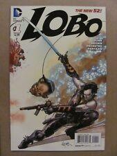 Lobo #1 NEW 52 DC Comics 2014 Series 9.6 Near Mint+