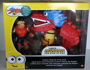 Mattel Minions THE RISE OF GRU DRAGON DISGUISE STORY PACK