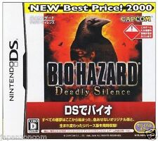 Used DS Capcom BioHazard: Deadly Silence   NINTENDO JAPANESE IMPORT