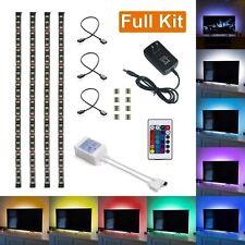N4 Striscia LED USB TV KIT PC RGB Cambia Illuminazione decorazione ambiente  PV