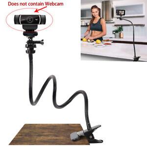"25 "" Flexible Gooseneck Clamp Mount Bracket Webcam Stand fit for Logitech Webcam"