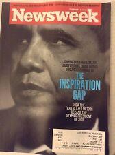 Newsweek Magazine Barack Obama Inspiration Gap February 1, 2010 081017nonrh
