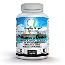 Healthy Brook Enhanced-Biotics Probiotic DE111™ and Prebiotic PreforPro® 60 caps