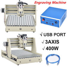 USB 3040 CNC Router 3 Axis Engraver wood Carving Milling Drilling Machine 400W
