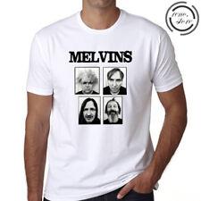 The Melvins Personels Metal Punk Band Men's White T-Shirt Size S M L XL 2XL 3XL