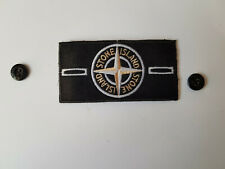 STONE ISLAND BADGE BIANCA WHITE GLOW IN THE DARK PATCH AUTO PROPOSTA  PROPOSAL