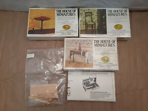 #DF114 Dragonfly Int/'L 1//12th Miniature Patio Chair Kit Maple