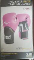 Everlast Women's Pink Pro Style Elite Training Gloves 12oz  Model 2512W