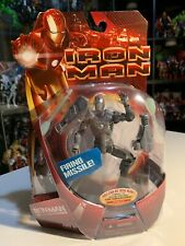 Iron Man Movie Mark 02 Action Figure With Firing Missile 2008