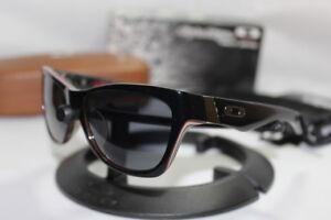 New Oakley Troy Lee Designs Jupiter LX Signature Polished Black/Grey 24-175