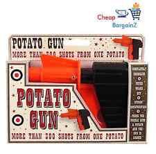 Niños Niños Juguete Pistola de patata Spud Clásico Retro pistola Shooter broma vendedor del Reino Unido